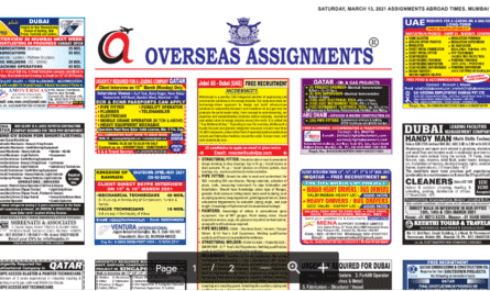 Assignment Abroad Times 15th May 2021