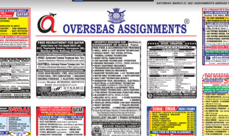 Assignment Abroad Times 31st March 2021