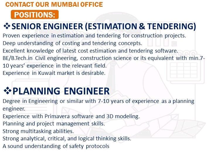 LARGE REQUIREMENTS FOR KUWAIT