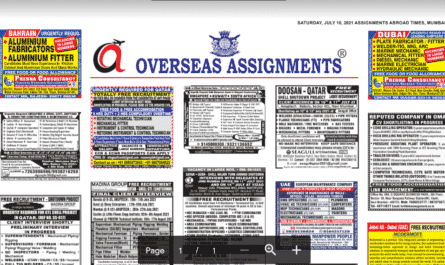 Assignment Abroad Times 10th July 2021
