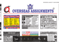 Assignment Abroad Times 22nd September 2021