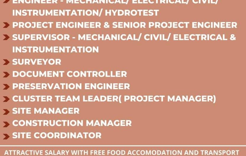 A LEADING CONTRACTING COMPANY Required for Oman