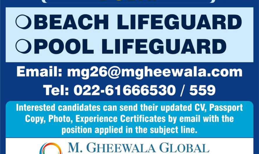 URGENTLY REQUIRED FOR DUBAI